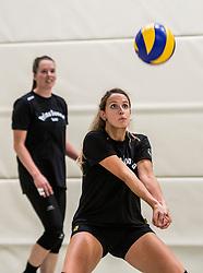 10-09-2018 NED: Training PDK Huizen season 2018-2019, Huizen<br /> Training for the players of Top Division club vv Huizen women season 2018-2019 / Daniela de Hooge #3 of PDK Huizen