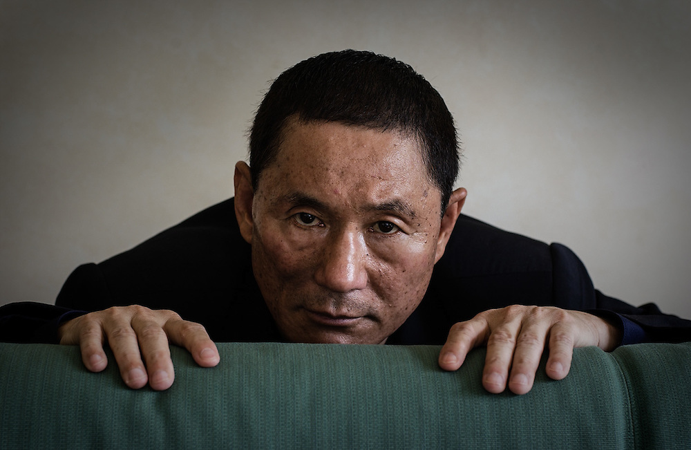 Takeshi Kitano - Director - © 2002 Piermarco Menini, all rights reserved, no reproduction without prior permission www.piermarcomenini.com, mail@piermarcomenini.com