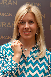 Maria De Villota, Former Formula 1  Test Driver,  during a photocell for Jewellery brand Duran,  May 22, 2012, Madrid, Spain, Picture by Belen Diaz / DyD Fotografos / i-Images. <br /> UK ONLY .SPAIN OUT<br /> File Photo - Ex-F1 Test Driver Maria De Villota Dies at 33.<br /> Former Formula One test driver Maria de Villota, who lost an eye in a crash last year, was found dead in a hotel room in Seville on Friday, 11 October 2013. Photo by Belen Diaz / DyD Fotografos / i-Images .SPAIN OUT. UK ONLY, Photo Filed on Monday 14th October 2013.