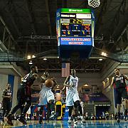 NBA D-LEAGUE BASKETBALL 2013 - DEC 12 Idaho Stampede defeats Delaware 87ers 115-88
