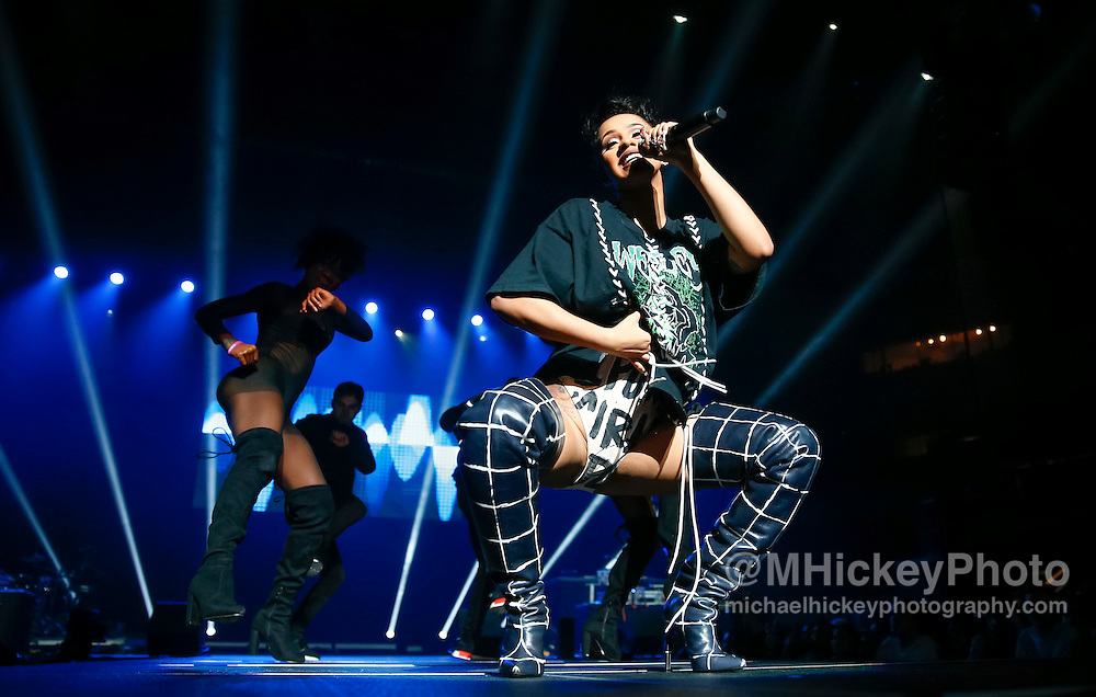 INDIANAPOLIS, IN - DECEMBER 04: Cardi B performs during 2016 Santa Slam Concert at Indiana Farmers Coliseum on December 4, 2016 in Indianapolis, Indiana. (Photo by Michael Hickey/Getty Images) *** Local Caption *** Cardi B