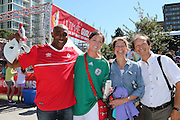 Supporting Canada and Nigeria - Women's World Cup Fans as the tournament comes to Vancouver<br /> <br />  - &copy; David Young - www.davidyoungphoto.co.uk - email: davidyoungphoto@gmail.com