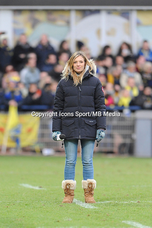 Clementine SARLAT - 25.01.2015 -  Clermont / Saracens - European Champions Cup <br />Photo : Jean Paul Thomas / Icon Sport