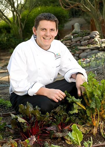 Tuscany Chef in Garden