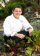 Tuscany Chef in Garden