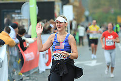 V cilju na 13. Ljubljanskem maratonu po ulicah Ljubljane, 26. oktobra 2008, Ljubljana, Slovenija. (Photo by Vid Ponikvar / Sportal Images)./ Sportida)