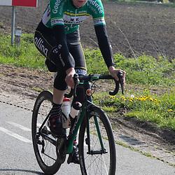 TWENTERAND (NED) wielrennen<br />Verkenning van een nieuw stuk parours <br />Robin Lowik
