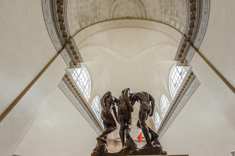 Rodin Sculpture, California Palace of the Legion of Honor, fine arts museum, San Francisco, California, Lincoln Park