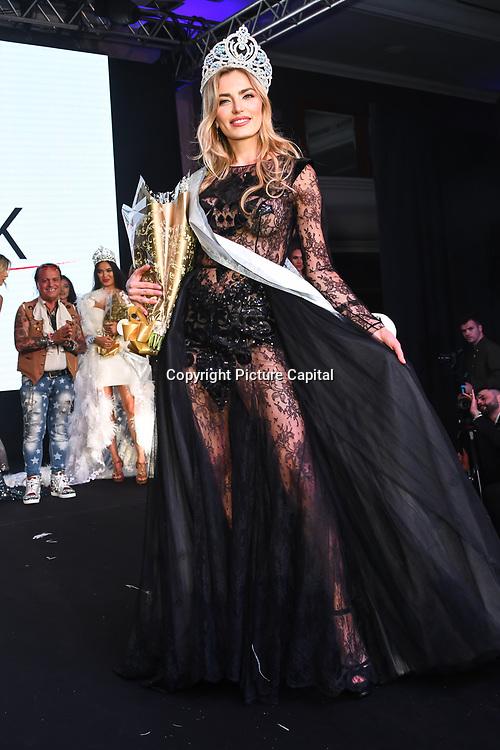 Kesnia Ocheredko is the 2nd of the Grand Final MISS USSR UK 2019 at Hilton Hotel Park Lane on 27 April 2019, London, UK.