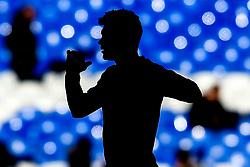 Raul Jimenez of Wolverhampton Wanderers silhouetted - Mandatory by-line: Robbie Stephenson/JMP - 02/02/2019 - FOOTBALL - Goodison Park - Liverpool, England - Everton v Wolverhampton Wanderers - Premier League