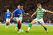 Alfredo Morelos of Rangers FC during the Betfred Scottish League Cup Final match between Rangers and Celtic at Hampden Park, Glasgow, United Kingdom on 8 December 2019.