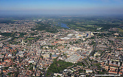 aerial photograph of Norwich Norfolk England UK
