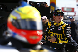 November 3, 2018 - Ft. Worth, Texas, United States of America - John Hunter Nemechek (42) hangs out on pit road prior to qualifying for the O'Reilly Auto Parts Challenge at Texas Motor Speedway in Ft. Worth, Texas. (Credit Image: © Justin R. Noe Asp Inc/ASP via ZUMA Wire)