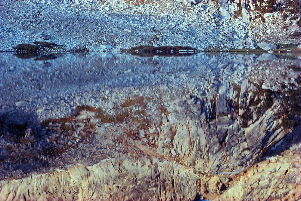 Reflections, Young Lakes, Yosemite National Park, California
