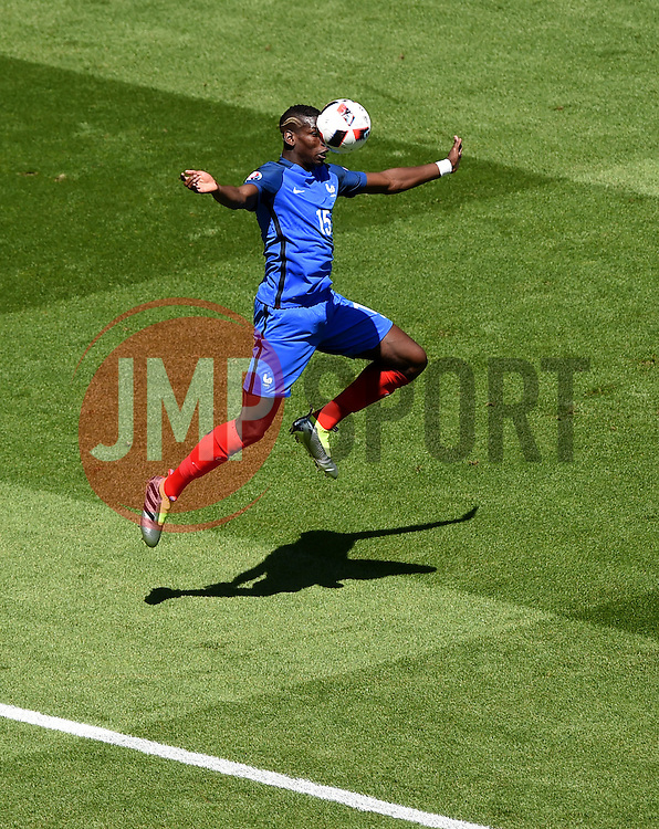 Paul Pogba of France  - Mandatory by-line: Joe Meredith/JMP - 26/06/2016 - FOOTBALL - Stade de Lyon - Lyon, France - France v Republic of Ireland - UEFA European Championship Round of 16