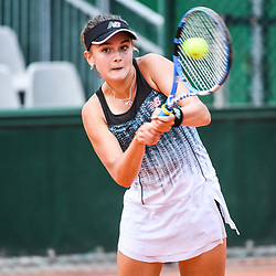 Clara Burel (France) during Day 9 for the French Open 2018 on June 4, 2018 in Paris, France. (Photo by Anthony Dibon/Icon Sport)