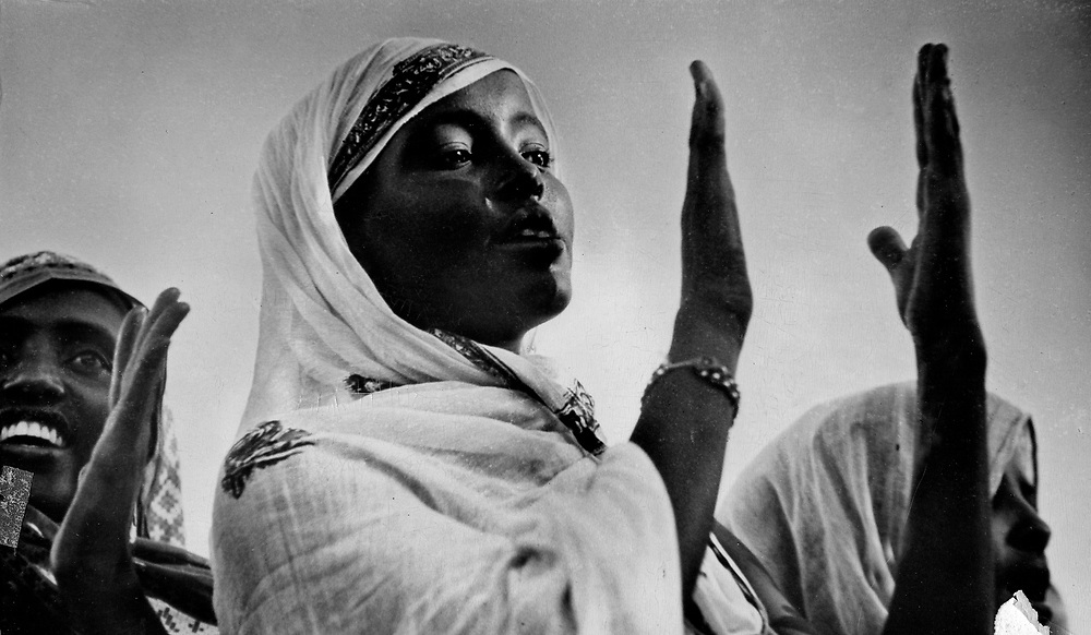 Somali female dancer
