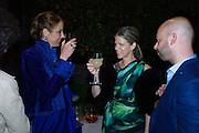 VANESSA ARELLE; YVONNE LA FORCE; MICHALE KLUG, Hauser and Wirth cocktail reception. Palazzo Balbi-Valier, Dorsoduro 866, Venice, Venice Biennale, Venice. 5 May 2015
