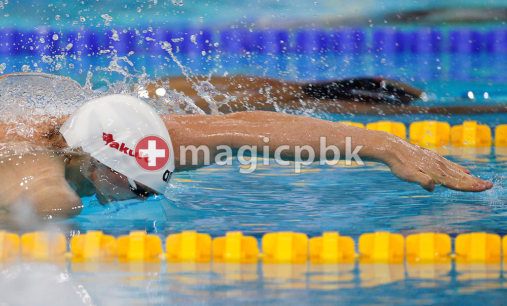 Paul BIEDERMANN of Germany competes in the men's 200m Freestyle Heats during the 10th FINA World Swimming Championships (25m) at the Hamdan bin Mohammed bin Rashid Sports Complex in Dubai, United Arab Emirates, Wednesday, Dec. 15, 2010. (Photo by Patrick B. Kraemer / MAGICPBK)
