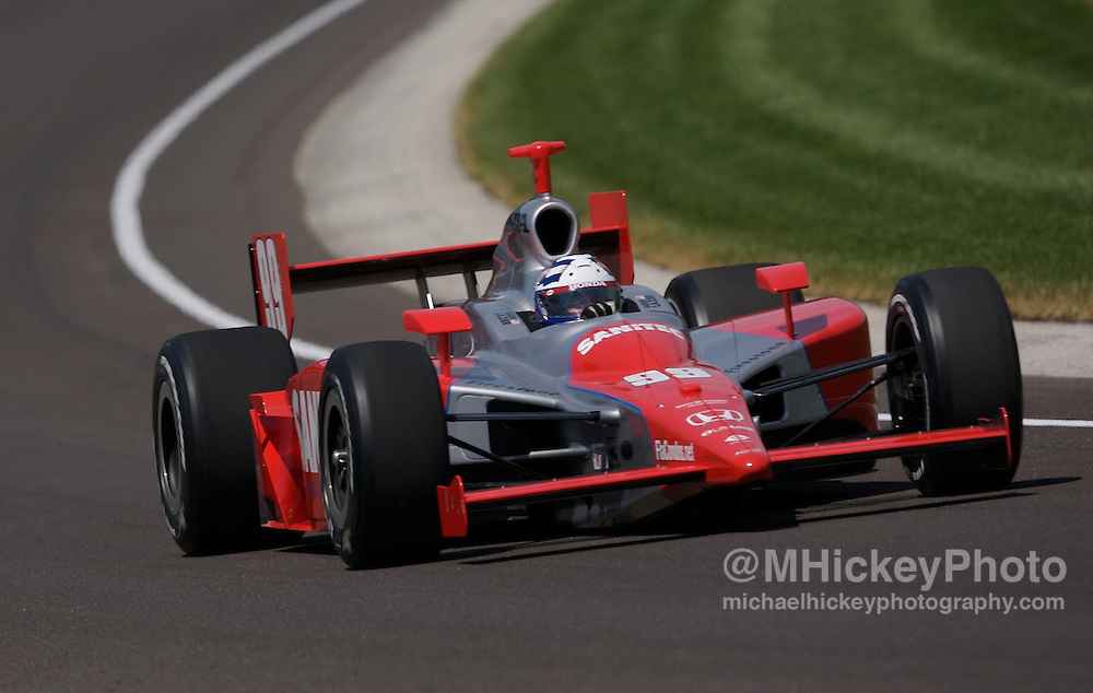 Buddy Lazier Photo by Michael Hickey