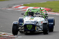 #70 Kevin Cooper Caterham Tracksport during the Avon Tyres Caterham Tracksport Championship at Oulton Park, Little Budworth, Cheshire, United Kingdom. August 13 2016. World Copyright Peter Taylor/PSP.