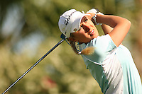March 25, 2005; Rancho Mirage, CA, USA;  Natalie Gulbis tees off during the second round of the LPGA Kraft Nabisco golf tournament held at Mission Hills Country Club.  <br />Mandatory Credit: Photo by Darrell Miho <br />&copy; Copyright Darrell Miho