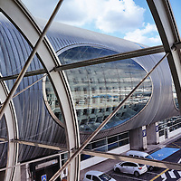 PARIS, FRANCE - 2 SEPTEMBER 2015: Charles de Gaulle Airport