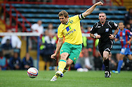 Picture by Paul Chesterton/Focus Images Ltd..26/7/11.Grant Holt of Norwich City in action during a pre season friendly at Selhurst Park stadium, London