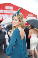 01/08/2013 Mary Lee from Gort at the Anthony Ryan's Best Dressed on Ladies day at the Galway Races . Picture:Andrew Downes