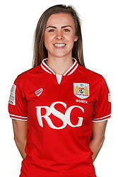 Georgia Evans of Bristol City Women poses for a headshot - Mandatory byline: Rogan Thomson/JMP - 21/02/2016 - FOOTBALL - Stoke Gifford Stadium - Bristol, England - Bristol City Women Team Photos.