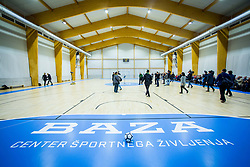 Baza during Opening event of Sports hall Baza, on January 8, 2018 in Sports hall Baza, Ljubljana, Slovenia. Photo by Ziga Zupan / Sportida