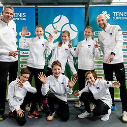 20190119: SLO, Tennis - U12 Slovenian tennis team