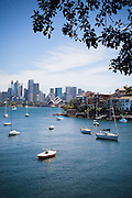 View from Cremorne Point to Opera House, Sydney, Australia