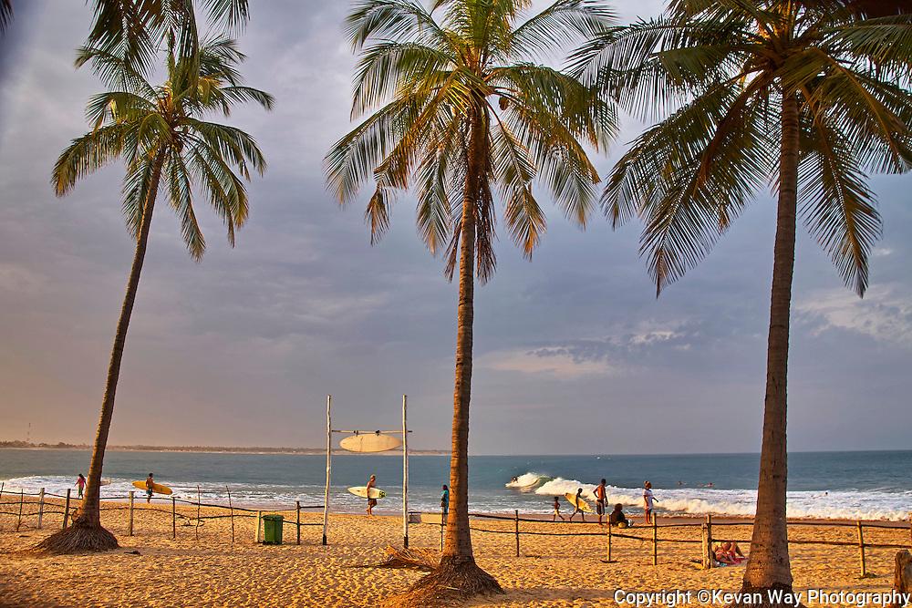 sunset at Arugam Bay Sri Lanka