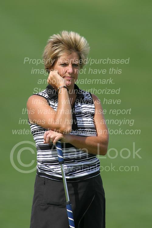 30 Aug 2005<br /> <br /> Kathryn Marshall.<br /> <br /> State Farm Classic, LPGA Golf Tournament, Tuesday Practice, The Rail Golf Course, Springfield, IL