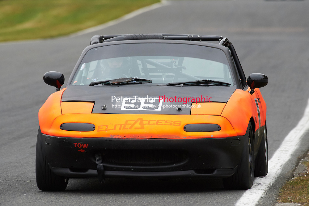 #99 George SNEE Mazda MX5 Mk1 1600 during Max 5 Championship as part of the BARC NW - Championship Raceday  at Oulton Park, Little Budworth, Cheshire, United Kingdom. March 19 2016. World Copyright Peter Taylor/PSP. Copy of publication required for printed pictures.  Every used picture is fee-liable. http://archive.petertaylor-photographic.co.uk