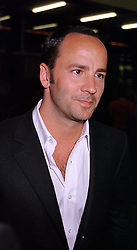 TOM FORD head designer for Gucci, at a party in<br />  London on 11th May 2000.OSY 105