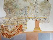 Kloster Lorsch, Königshalle, Fresken innen, UNESCO Weltkulturerbe, Hessen, Deutschland | Lorsch Abbey, King's Hall, interior, a UNESCO World Heritage Site, Hessen, Germany