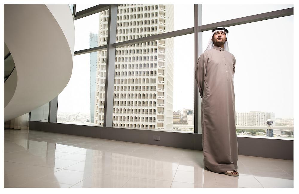His Highness Sheikh Saqer Bin Mohammed Bin Zayed al Nahyan of Abu Dhabi