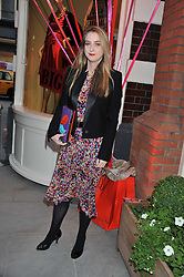 DAISY DE VILLENEUVE at the opening of the Kate Spade New York Store, 2 Symons Street, London on 1st September 2011.