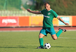 Zeljko Mitrakovic of Olimpija at final match of 2nd SNL league between NK Olimpija in NK Aluminij, on May 23, 2009, ZAK, Ljubljana, Slovenia. Aluminij won 2:1. NK Olimpija is a Champion of 2nd SNL and thus qualified to 1st Slovenian football league for season 2009/2010. (Photo by Vid Ponikvar / Sportida)