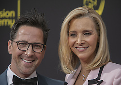 September 14, 2019, Los Angeles, California, United States of America: Dan Bucatinsky and Lisa Kudrow at the red carpet of the 2019 Creative Arts Emmy Awards on Saturday September 14, 2019 at the Microsoft Theater in Los Angeles, California. JAVIER ROJAS/PI (Credit Image: © Prensa Internacional via ZUMA Wire)
