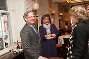 DOMINIC LAWSON; ROSA MONCKTON, Vanity Fair Lunch hosted by Graydon Carter. 34 Grosvenor Sq. London. 14 May 2013