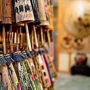 Traditional paper umbrellas, Meinong Township, Kaohsiung County, Taiwan