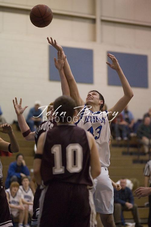 MCHS Varsity Boys Basketball.vs Luray.January 23, 2006