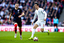 Ben Chilwell of England takes on Ante Rebic of Croatia - Mandatory by-line: Robbie Stephenson/JMP - 18/11/2018 - FOOTBALL - Wembley Stadium - London, United Kingdom - England v Croatia - UEFA Nations League