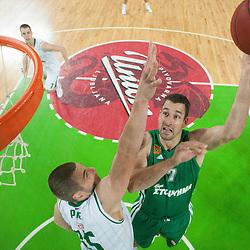 20121026: SLO, Basketball - Euroleague 2012/13, KK Union Olimpija vs Panathinaikos Athens