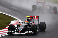 Esteban Gutierrez (MEX) Sauber C33.<br /> Japanese Grand Prix, Sunday 5th October 2014. Suzuka, Japan.