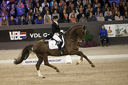 Oatley Kristy, (AUS), Du Soleil <br /> Indoor Brabant - 's Hertogenbosch 2016<br /> © Hippo Foto - Dirk Caremans<br /> 12/03/16