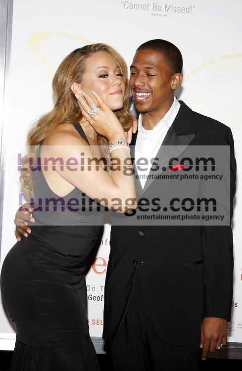 HOLLYWOOD, CA - NOVEMBER 01, 2009. Mariah Carey and Nick Cannon at the AFI FEST 2009 Screening of 'Precious' held at the Grauman's Chinese Theater in Hollywood, USA on November 1, 2009.